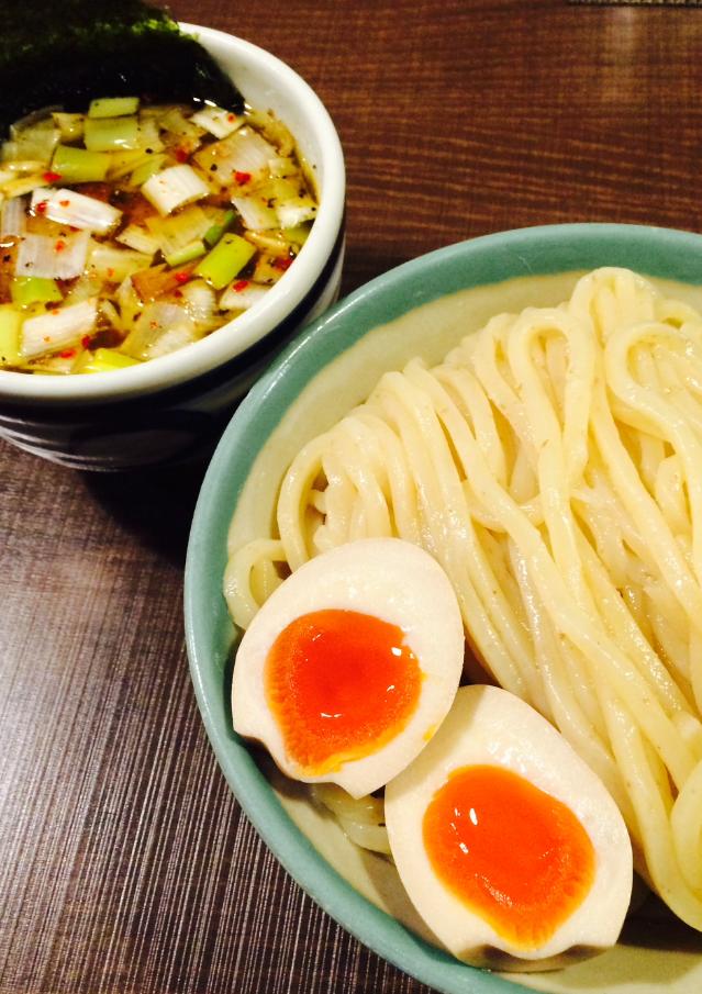味玉つけ麺(並盛)