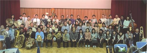 郡山吹奏楽団と宮川さん