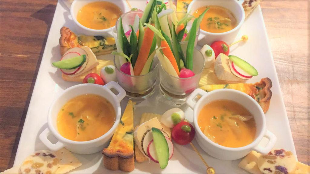 パーティープラン前菜の例