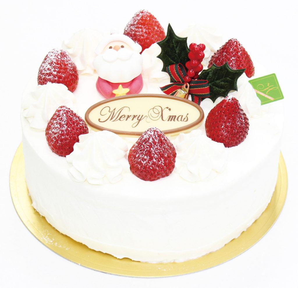 日の出屋 生クリーム デコレーションケーキ