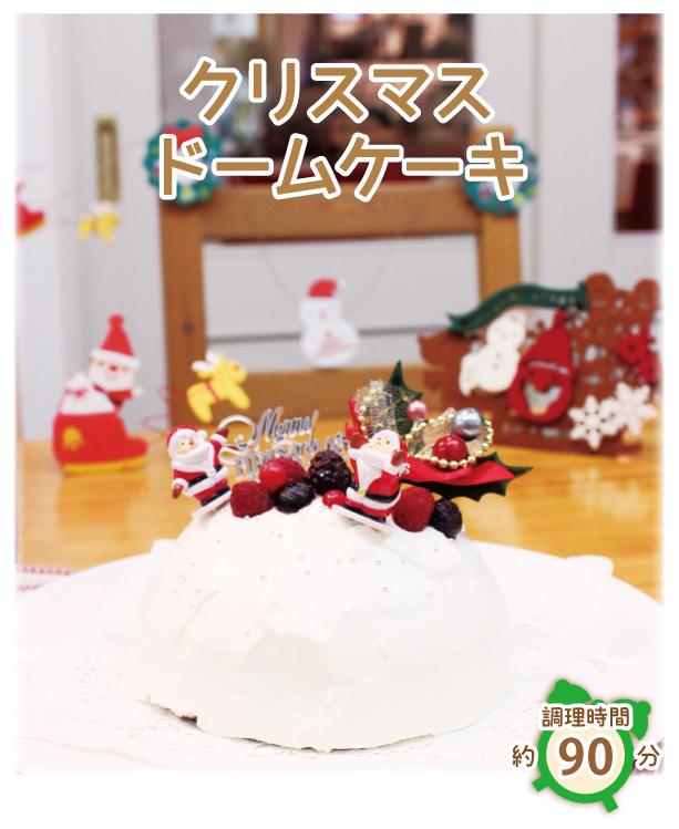 クリスマス ドームケーキ