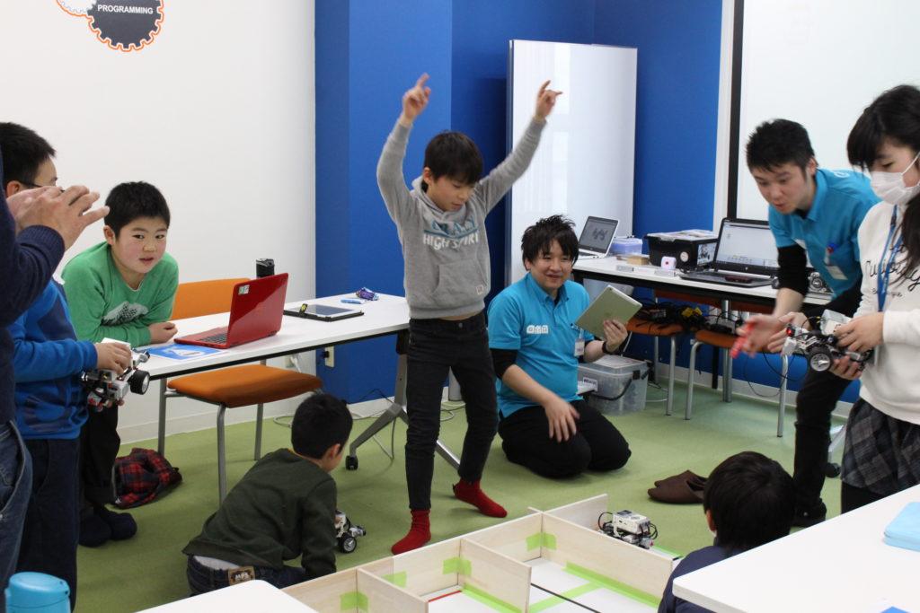 ロボ団でプログラミング