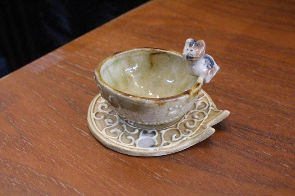シルバータビー 豆皿2
