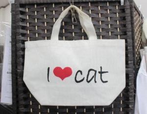 I love CAT トートバッグ