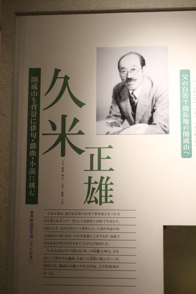 久米正雄肖像