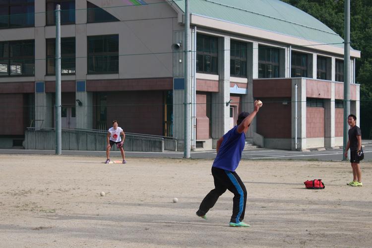 スペシャルオリンピックス日本・福島 ソフトボール練習風景