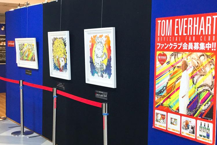 トム・エバハート新作版画発表展