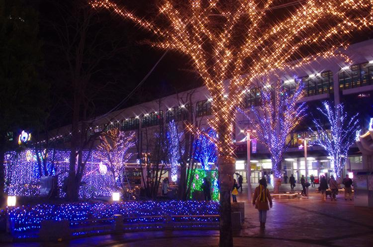 Big Tree Pageant (Illumination at Koriyama Station)