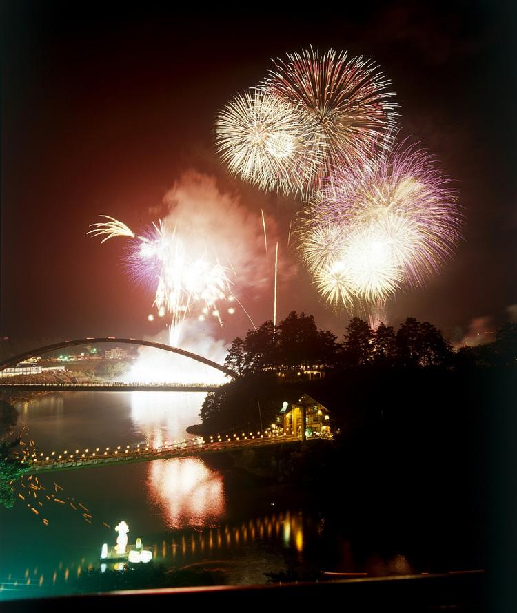 Spirit Festival Lantern Adrift Fireworks Show