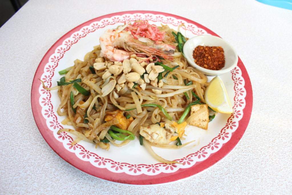 Pad Thai (Thai Stir-fried Sweet and Chili Noodles)