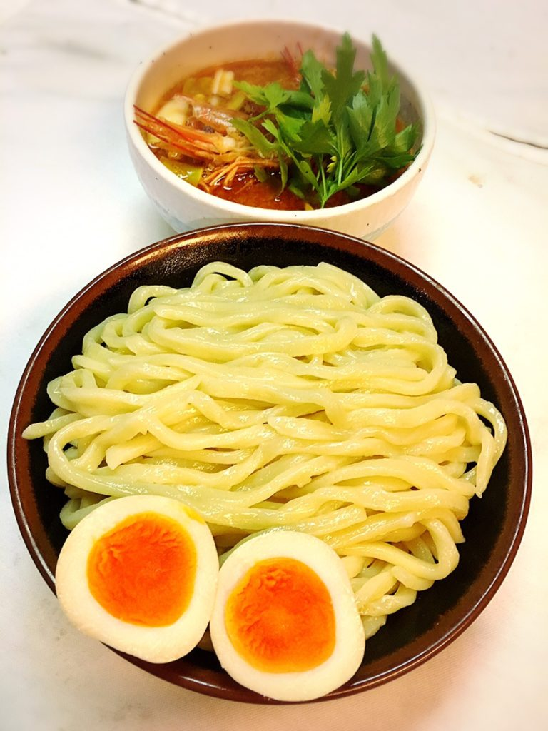 Tom Yum Goong Dipping Ramen Noodles