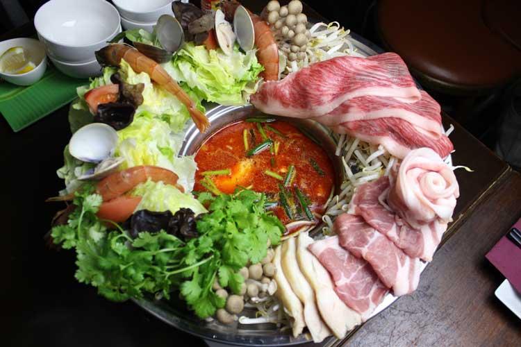ラウフォア(花鍋)トムヤムクン鍋