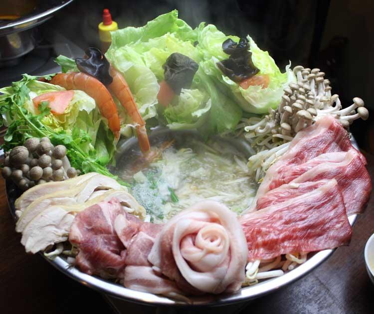 ラウフォア(花鍋)タイスキ鍋