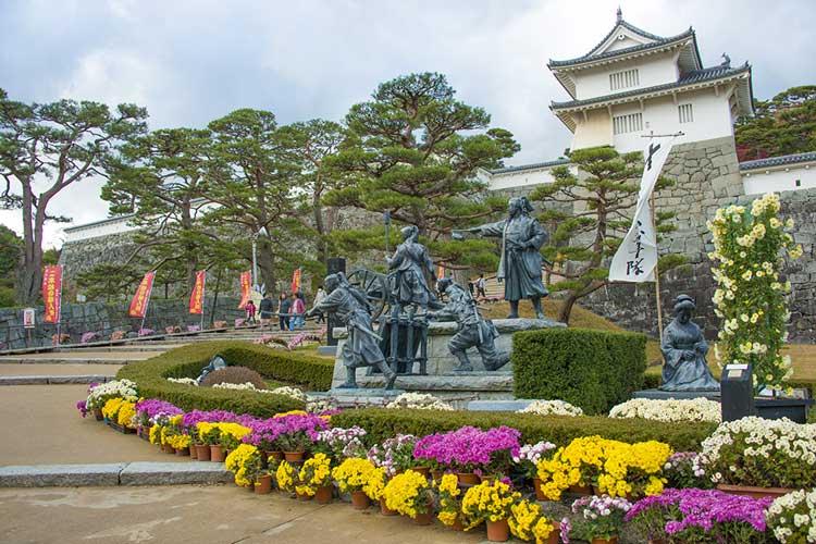 霞ヶ城・二本松城(二本松市)