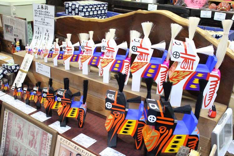 三春駒(郡山市の伝統工芸品・郷土玩具)