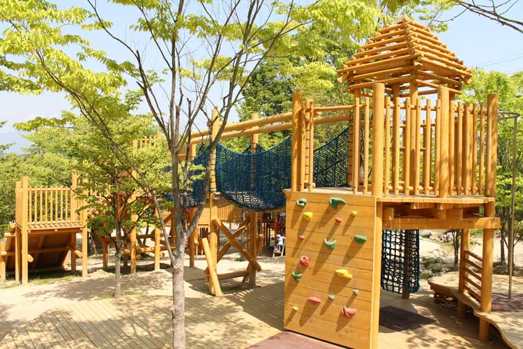Prince Williams Park in Motomiya City