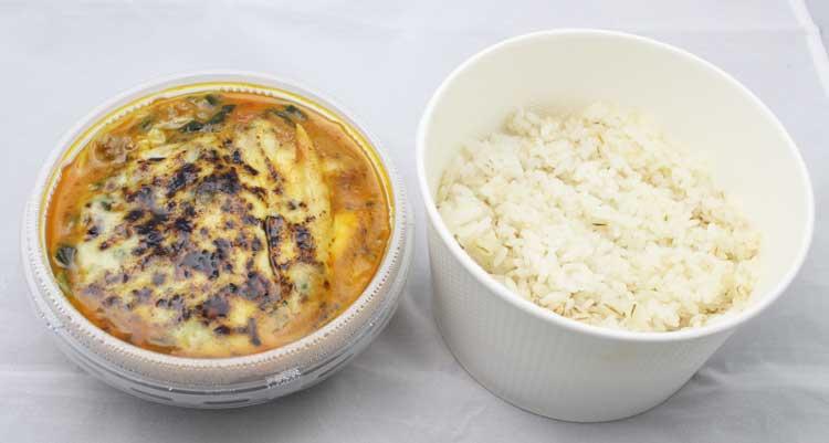 焼きチーズのキーマCURRY