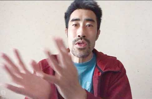 Interview via Online: Fukushima's Famous Actor and Entertainer, Nasubi Active in Various Fields