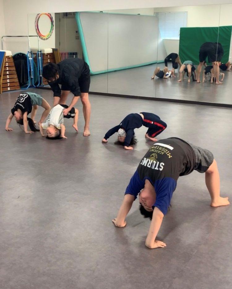KON アクロバット・体操教室②